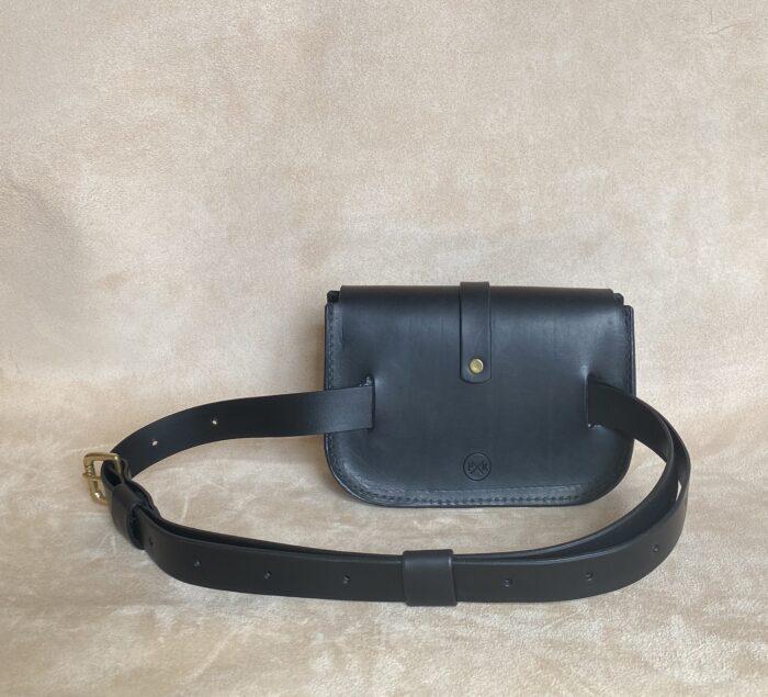 Pkirkwood Sml Belt Bag Blk No.3 Standing Back