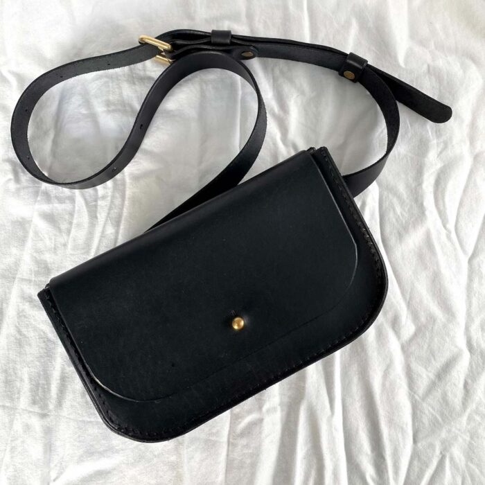 Paula Kirkwood - Belt Bag Black
