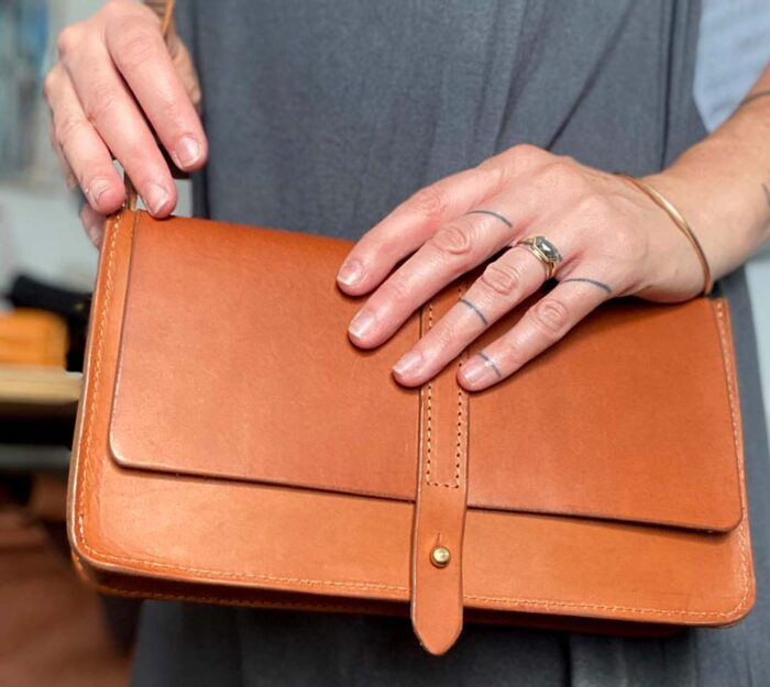 Paula Kirkwood - Box Handbag 3