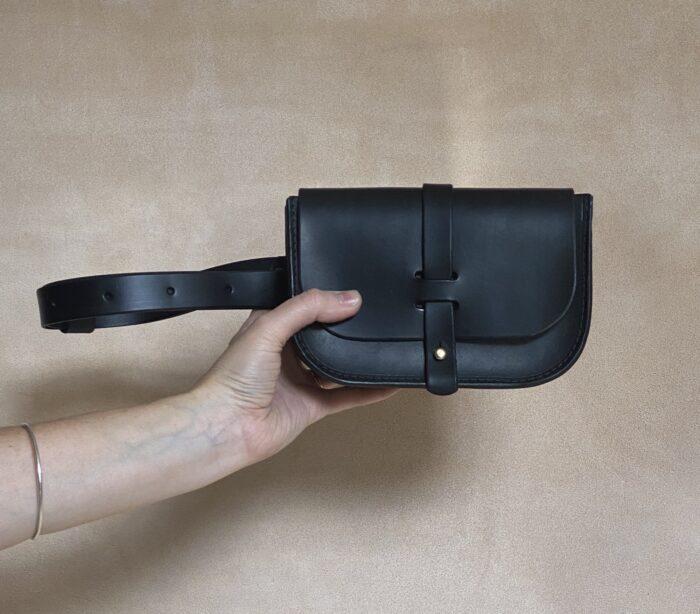 Small Belt Bag No.3 Blk Hand