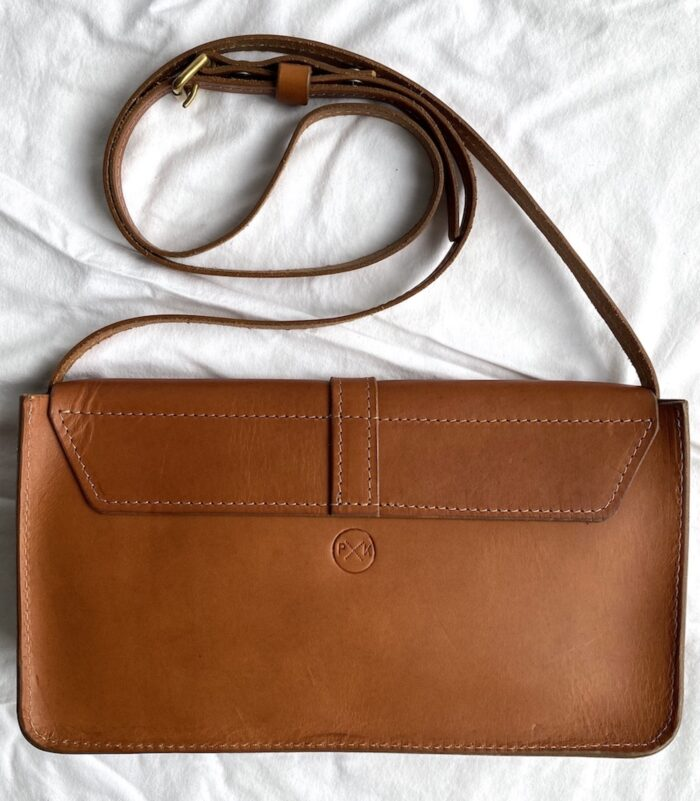 Paula Kirkwood Box Handbag Tan Back Aw2020 1